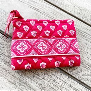 Vera Bradley Nantucket Red Coin Pouch